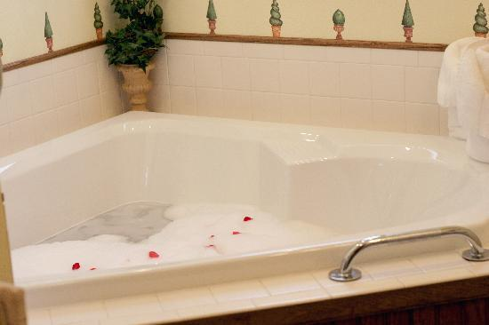 Westby House Inn: Atrium Room Tub