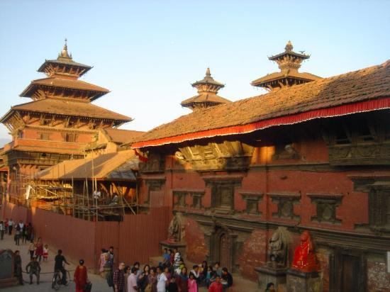 Kathmandu Contemporary Arts Centre: Nice view of Patan