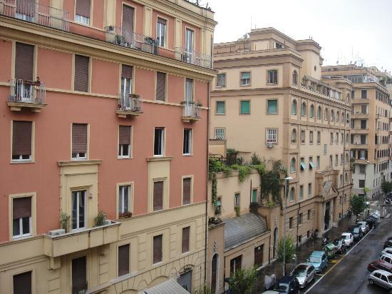Hotel San Pietrino: from the window in my room