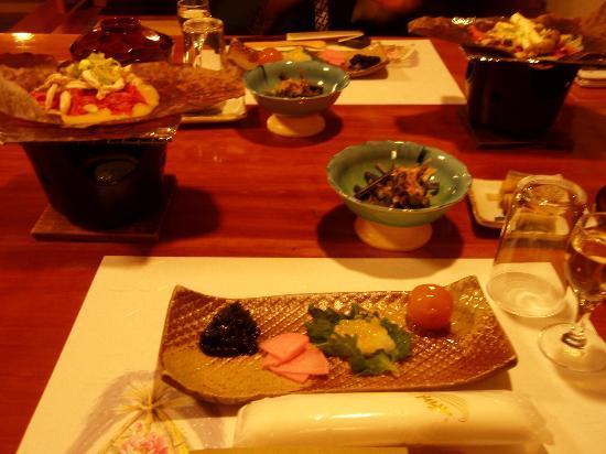 Yamaka no Yu : 夕食