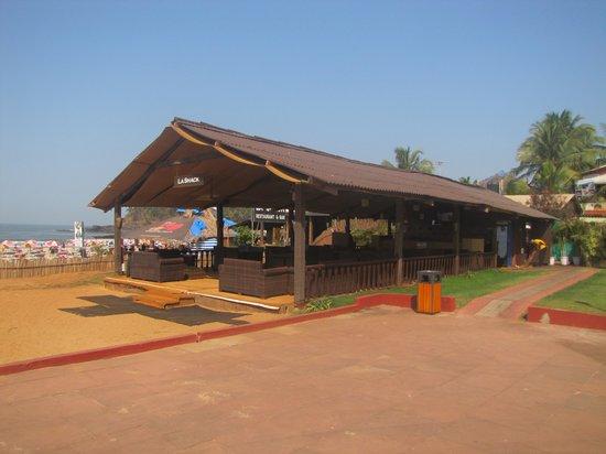 La Calypso Goa : The hotel shack