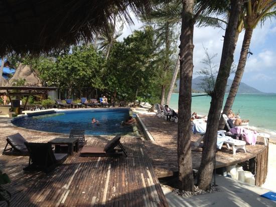 B 52 Beach Resort: Frühstücksblick