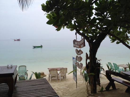 Haad Yao Resort : Frühstücksblick