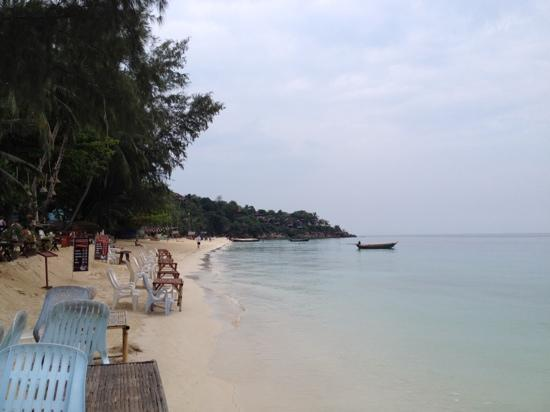 Haad Yao Resort: strandblick