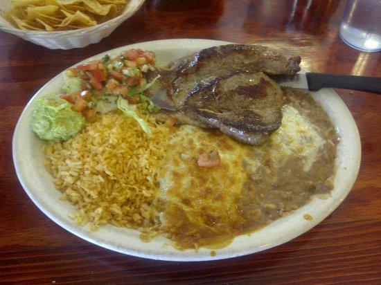 El Jacalito Mexican Grill: Yummy carne asada!