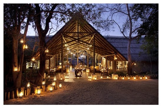 Thornybush Private Game Reserve, Sudáfrica: Thornybush Game Lodge Reception