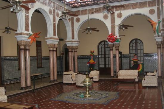 Hotel Majestic: liebevoll gestalteter Salon