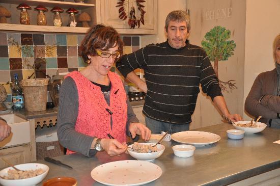 Truffiere des Merigots: Nadine et Eric