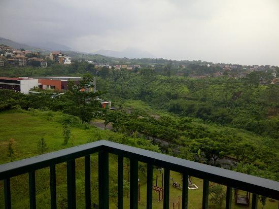 Marbella Suites Bandung: view from room 615
