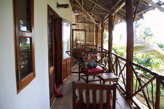 Casa Del Mar Hotel Jambiani : Balcony
