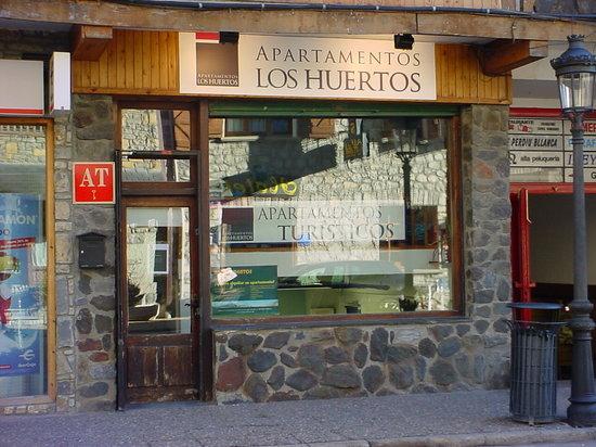 Apartamentos Los Huertos: Oficina