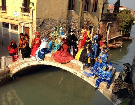 3749 Ponte Chiodo: bridge Pontechiodo on Carneval