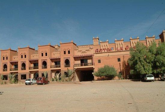 Hotel Lakasbah: façad principal de l'hôtel