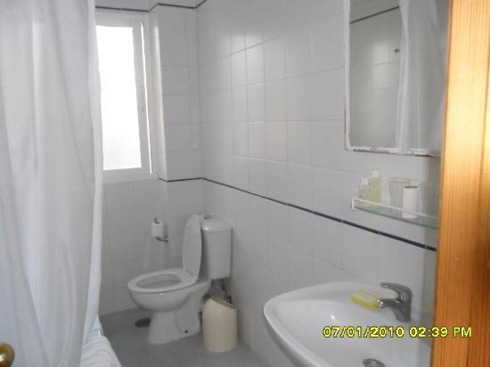 Ecuador Park Apartments : toilette pas trop petite