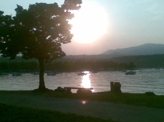 La Quiete Park Hotel: il tramonto sul lago!