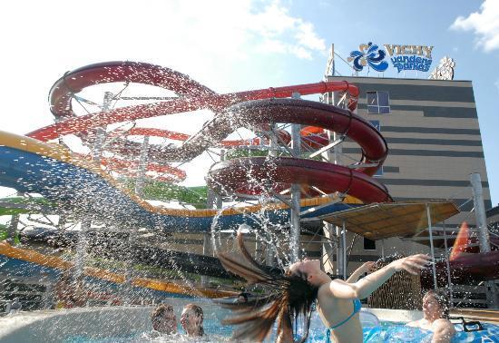 Vichy Vandens Park (Vichy Aqua Park) : Water slides
