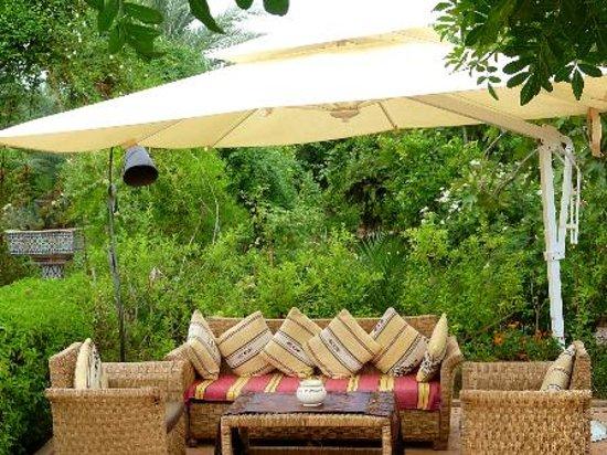 Hotel Dar Zitoune: Terrace  lounge