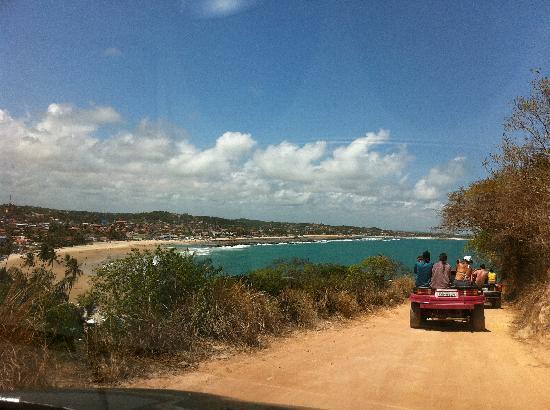 Cabo de Santo Agostinho, PE: Chegando em Calhetas