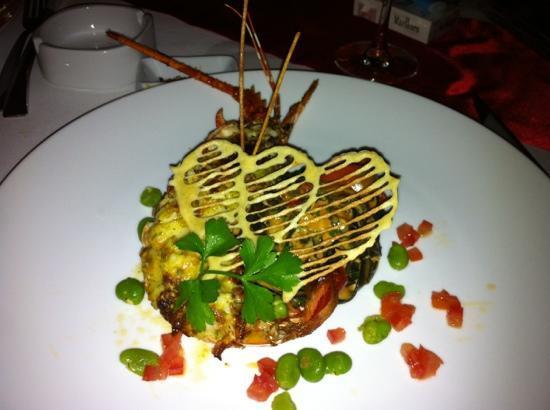 The Pepper Tree Restaurant: aragosta