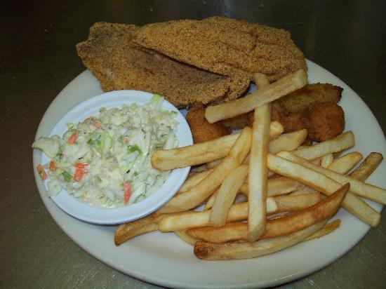 Diana's Diner: Catfish Dinner