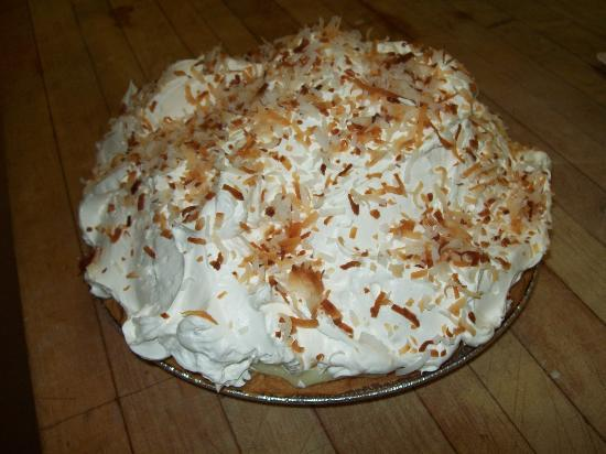 Diana's Diner: Coconut cream pie