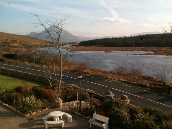 An Chuirt, Gweedore Court Hotel: View from front room