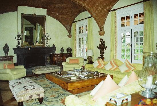 Hacienda de San Antonio : Hotel sitting room.