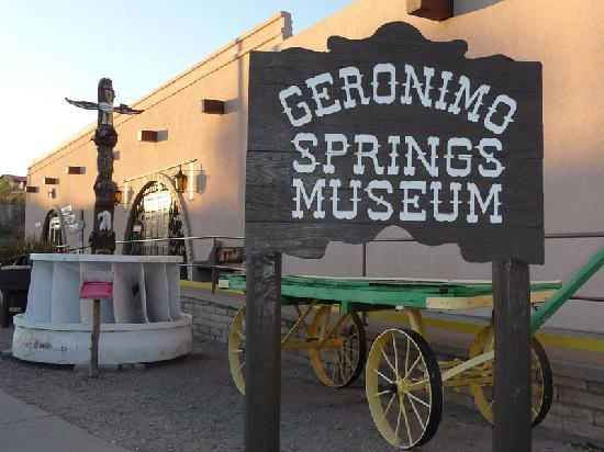 Sierra County, NM: Truth or Consequences' Geronimo Springs Museum, open 7 days per week