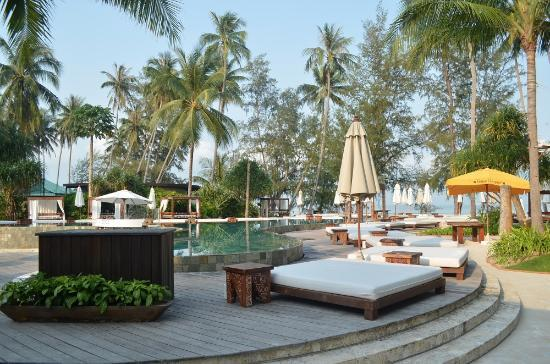 Nikki Beach Resort Koh Samui: Pool area