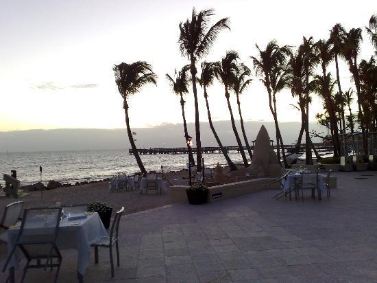 Casa Marina, A Waldorf Astoria Resort: Anlage mit Strand