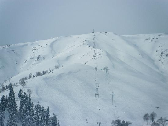 Heevan Retreat Gulmarg: The View to the top