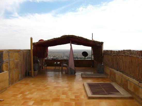Hotel Siddhartha : rooftop view