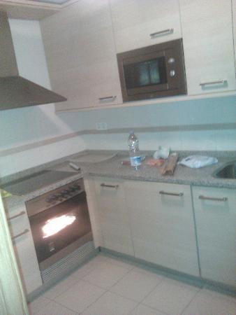Apartamentos Rodriguez de Cordoba: Cocina