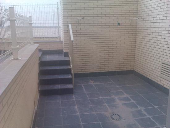 Apartamentos Rodriguez de Cordoba: terraza