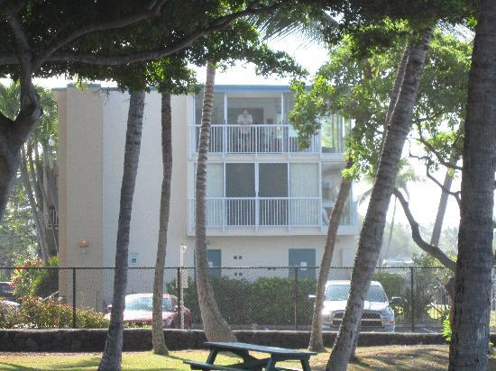 Kona Magic Sands: Top unit, 314 taken from Pahoehoe Park