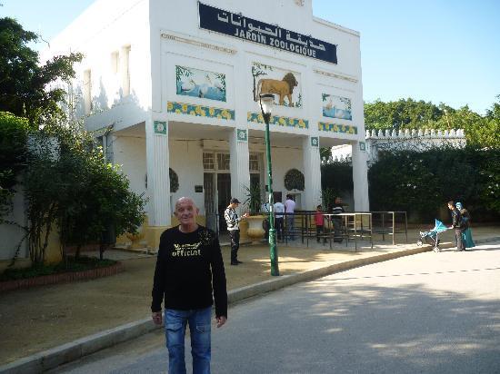 Le Jardin d'Essai du Hamma : l'entrée du parc
