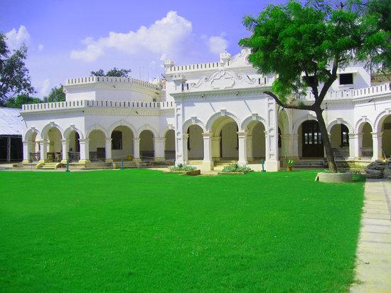 Hotel Harsh Ananda: The Victorian Facade..