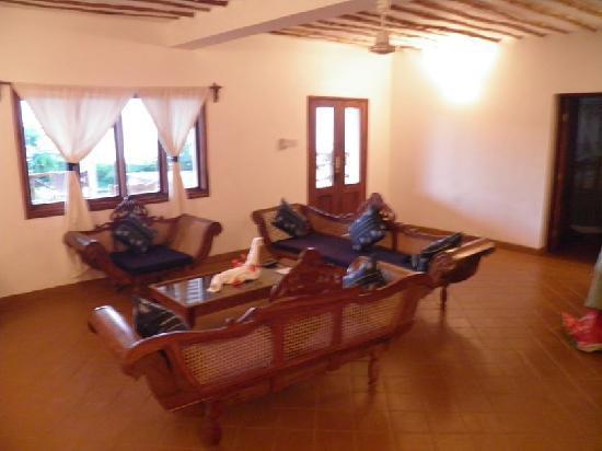 Dolphin Bay Resort Zanzibar : Living Room