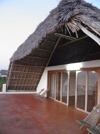 Dolphin Bay Resort Zanzibar: 1st Floor Terrace