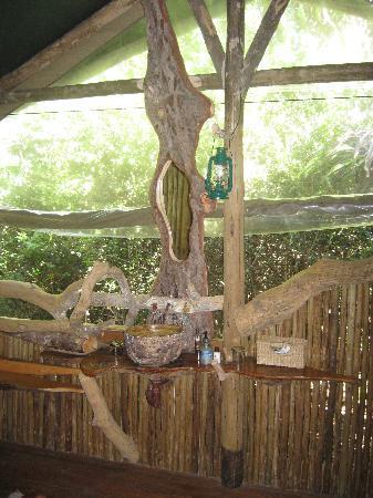 Sibuya Game Reserve & Tented Camp: Sink area