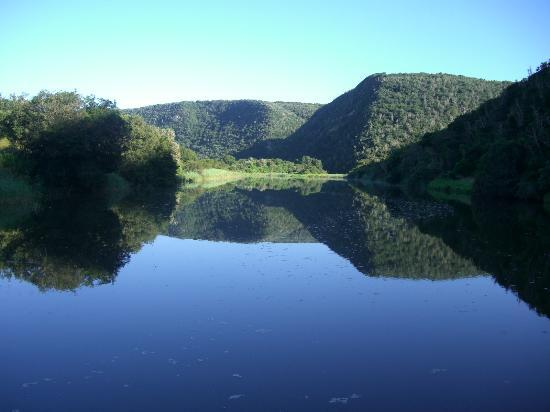 Sibuya Game Reserve & Tented Camp: View from river