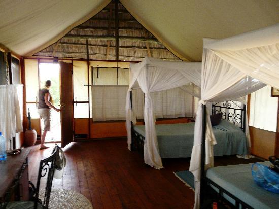 Maramboi Tented Camp: Chambre