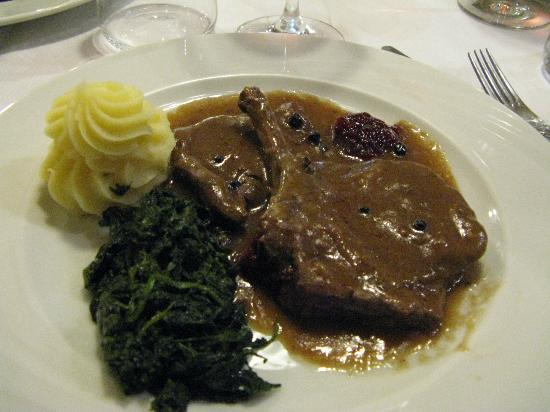 Hotel Pareda Ristorante: cena