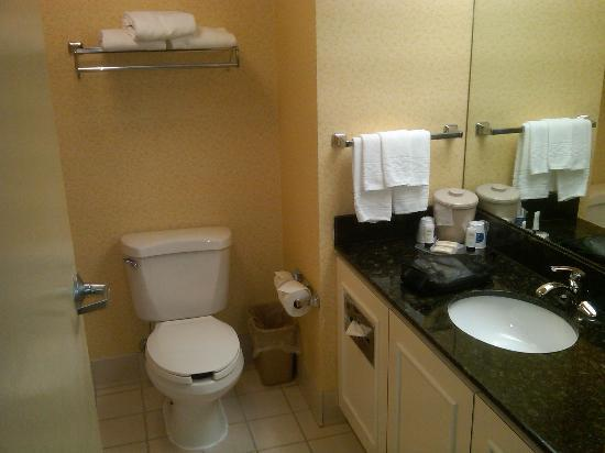 Fairfield Inn & Suites Hickory: bathroom 326