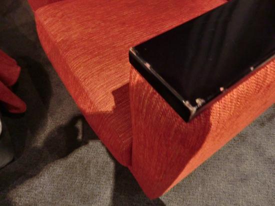 โรงแรมเฟาเท่นส์: Sessel gehört auf den Sperrmüll
