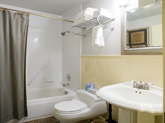 Bond Hotel & Extended Stay: Bathroom