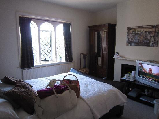 The Dering Arms: The lovely room