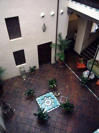Aire de Sevilla : Il patio
