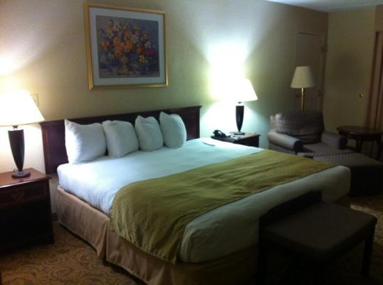Sturbridge Host Hotel & Conference Center: Comfortable bed