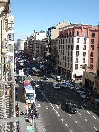 Hotel Condestable : vue de la chambre au 4ème étage